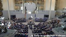 Berlin Bundestagsdebatte zu Griechenland Merkel