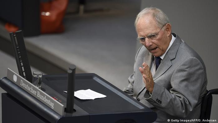 Deutschland Bundestagsdebatte zu Griechenland (Getty Images/AFP/O. Andersen)
