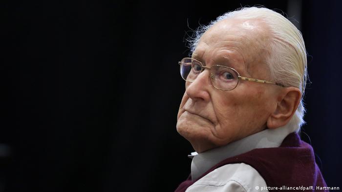 Oskar Gröning in court