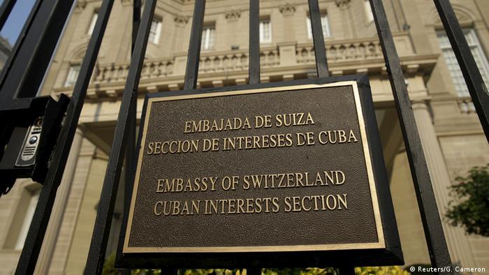 Vertretung Kubas in Washington (Foto: Reuters)