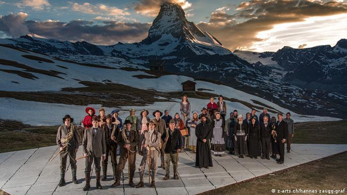 Schweiz Matterhorn Alpinismus Freilichtspiele Zermatt