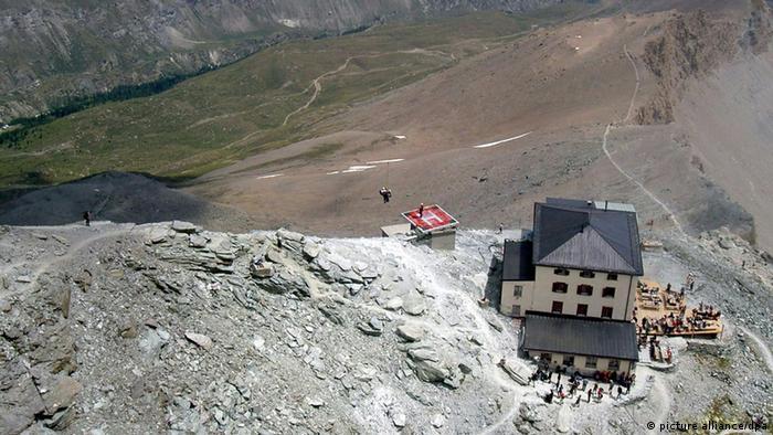 Schweiz Matterhorn Alpinismus Hörnli Hütte