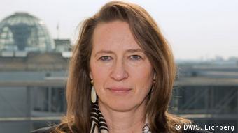 Sabine Kinkartz, comentarista de Deutsche Welle.