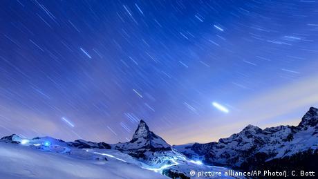 Schweiz Matterhorn Alpinismus Nacht
