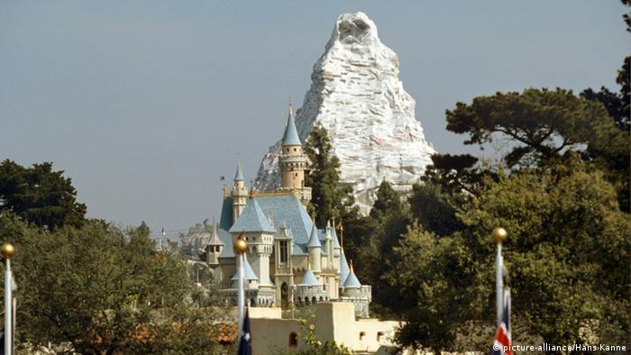 Schweiz Matterhorn Alpinismus Disneyland in Anaheim USA