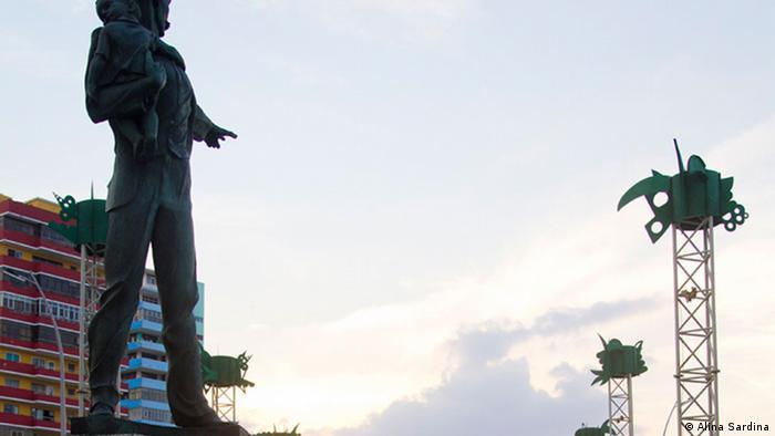 Martí Skulptur in La Havanna, Kuba (Alina Sardina)