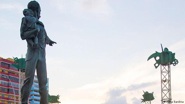 Martí Skulptur in La Havanna, Kuba