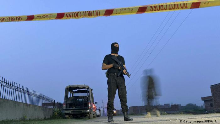 Pakistan Lahore Anti-Terror-Einsatz