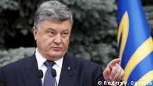 Ukraine Präsident Poroschenko Verfassungsänderung zur Dezentralisierung
