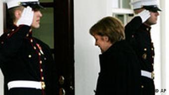 Angela Merkel in Washington USA