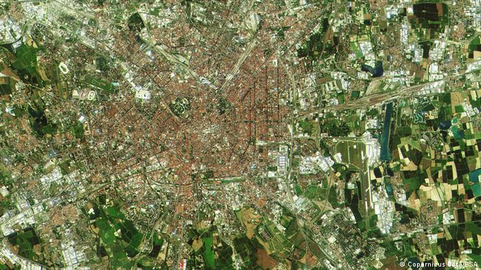 ESA - Erste Bilder des Sentinel 2 Satelliten