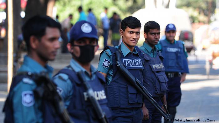 Bangladesch Polizei Sicherheit Terror Symbolbild