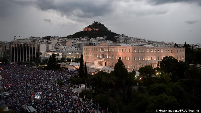 Griechenland Referendum Symbolbild