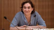 Spanien Barcelona Bürgermeisterin Ada Colau