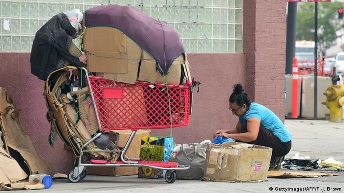 Symbolbild Armut USA