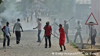 Burundi Imbonerakure Miliz (Getty Images/AFP/C. de Souza)