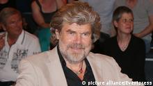 Reinhold Messner (Extrem-Bergsteiger), Lanz, Aufzeichnung 2 vom 01.07.2015, Hamburg,