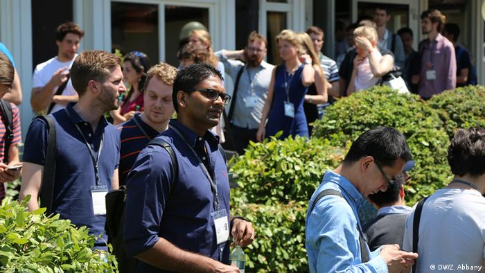Young scientists at the Lindau Laureate Meeting 2015 (Copyright: Zulfikar Abbany).