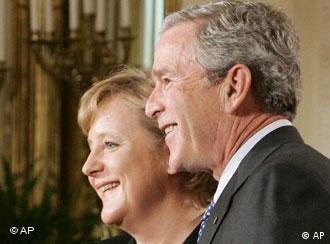 Do the smiles really mean the ice has melted between Germany and the US?