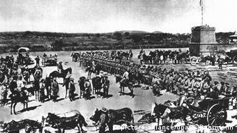 Herero-Aufstand 1904 Deutsche Truppen