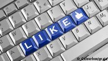 Symbolbild Like auf Facebook colourbox 2925536