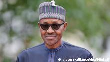 Muhammadu Buhari Präsident Nigeria Porträt G7 Gipfel 2015 Schloss Elmau