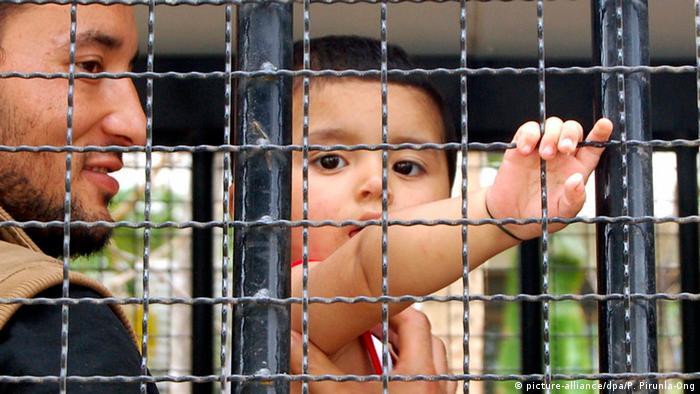 China Migranten Muslim & Kind