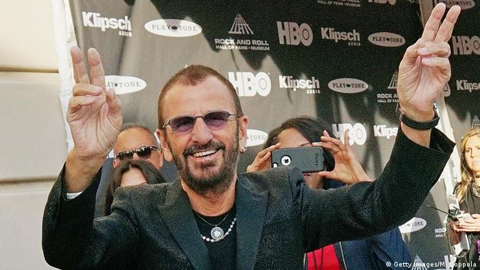 Ringo Starr attends the 30th Annual Rock And Roll Hall Of Fame Induction Ceremony at Public Hall on April 18, 2015