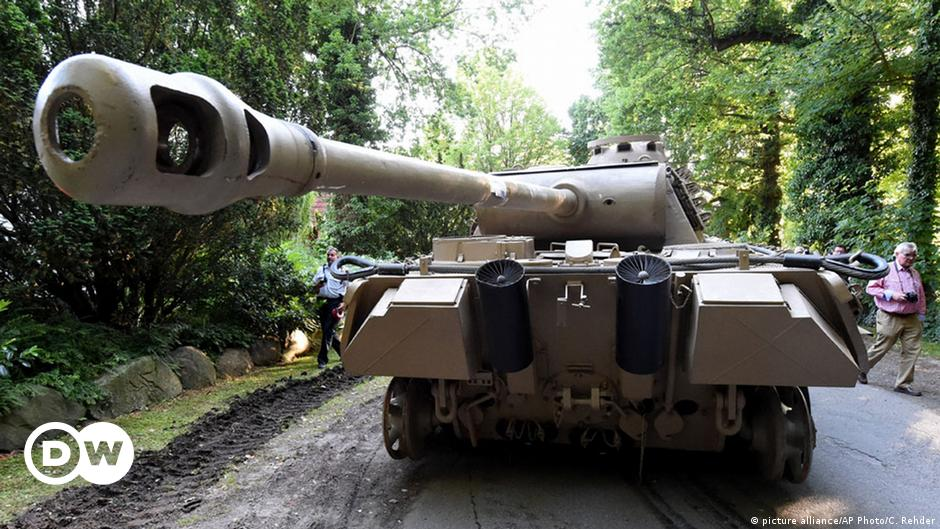 Germany: Nazi tank collector on trial for basement cache