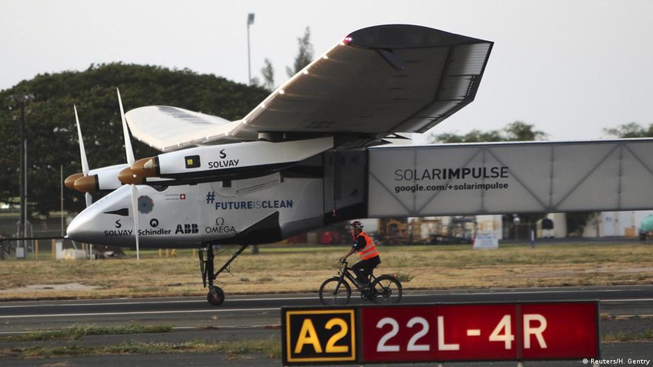 Solar Impulse 2: Weltumrundung unterbrochen | DW | 18.03.2015