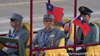 Veteranen gedenken Sieg über japan in Taiwan
