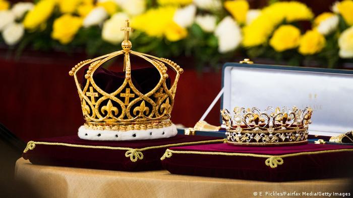 Krönung des neuen Königs von Tonga Tupou VI.
