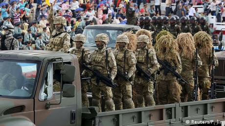 Militärparade in Taiwan