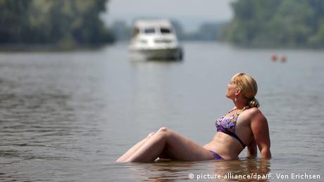 Hitzewelle in Deutschland