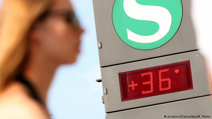 Жара в Германии: термометр показывает 36 градусов