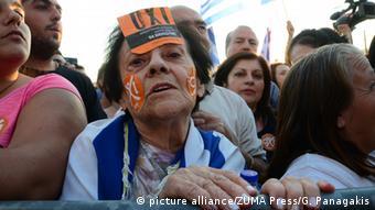 Griechenland Demonstration Nein Referendum