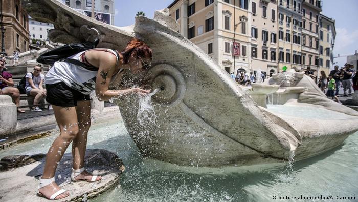 Bildergalerie Hitzewelle in Europa Italien (picture-alliance/dpa/A. Carconi)