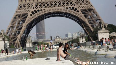 Bildergalerie Hitzewelle in Europa Frankreich