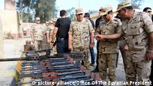 Ägypten Präsident al-Sisi Besuch in Sinai