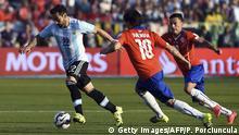 Chile Fußball Copa America Argentinien vs. Chile