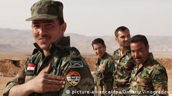 Syrien Soldaten Syrische Armee Regime