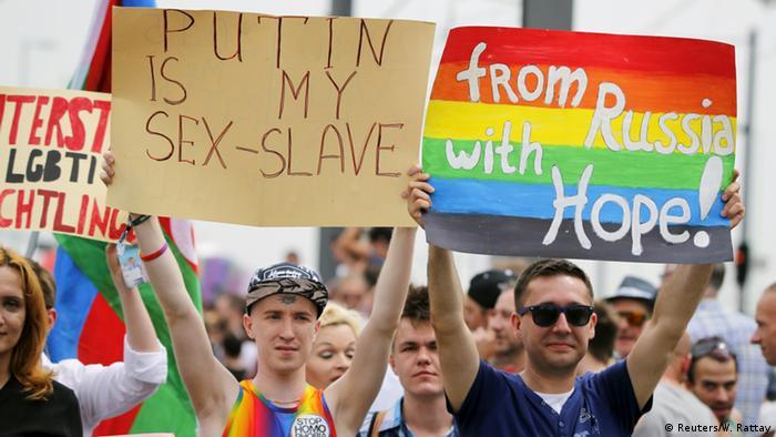 Учасники параду в Кельні нагадали керівництву Росії про дискримінацію ЛГБТ у російському суспільстві