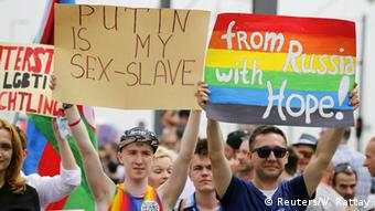 CSD Cologne 2015, Copyright: REUTERS/Wolfgang Rattay