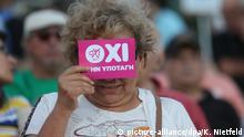Griechenland Referendum Freude in Athen OXI