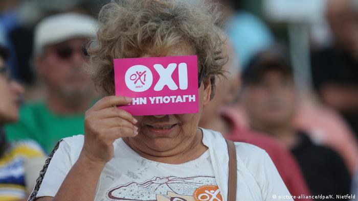 Grecia a votat NU