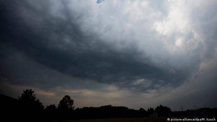 Deutschland Unwetter nach Hitze