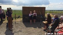 Відкриття меморіалу жертвам Голокосту в Кисилині на Волині