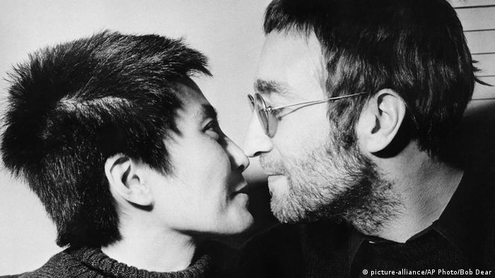 Джон Ленън и Йоко Оно; снимката е от 1970 година