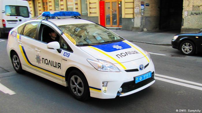 Toyota Prius української поліції
