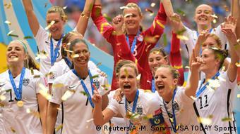 Kanada Frauen Fußball WM - Siegerehrung USA